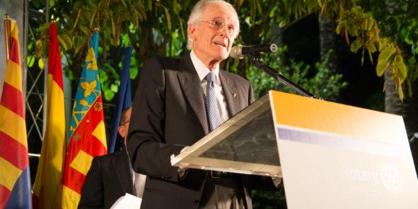 Discurso del premiado, Juan Garrigós Piecho.