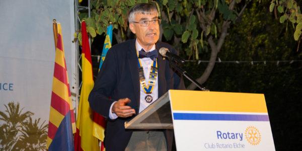 Discurso de José Pastor Rosado, Presidente saliente.