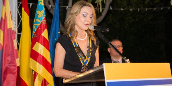 Discurso de María José Hidalgo Navarro, Presidenta entrante.